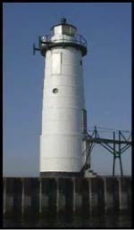 The Manistee Lighthouse